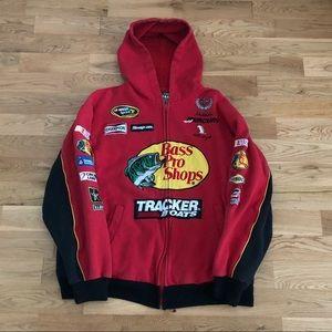 Vintage 90's NASCAR Dale Earnheardt Patch Hoodie